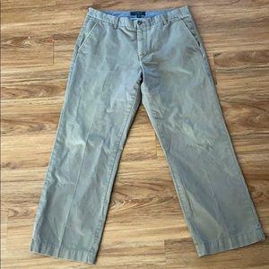 Banana republic men's boot cut chino size 36 x 32